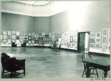 Exhibition in the Art Building, the University of Iowa, April 19, 1950