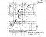 Iowa land survey map of t093n, r039w