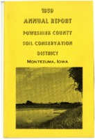 1959 Poweshiek County Soil and Water Conservation District Annual Report