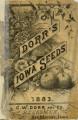 Dorr's Iowa Seeds 1883