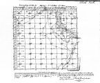 Iowa land survey map of t087n, r012w