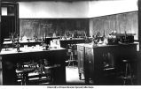 Biological Laboratory, first floor Old Science Hall, The University of Iowa, 1900s