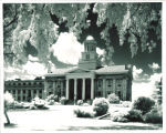 Old Capitol from the east, the University of Iowa, 1950s