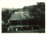 Chemistry Building construction, the University of Iowa, 1922