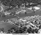 East Campus and Arts Campus, University of Iowa, 1968