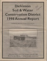 Dickinson County Soil Conservation District Annual Report - 1998.