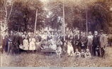 Breaking Sod for the New Friends Yearly Meeting House, circa 1912, Oskaloosa, Iowa; Mahaska County