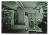 Rodent lab in Children's Hospital, The University of Iowa, 1926