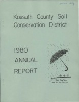 1980 Kossuth County Soil and Water Conservation District Annual Report