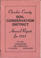 Cherokee County Soil Conservation District Annual Report - 1955