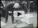 Induction ceremonies, The University of Iowa, 1928
