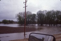 Flooding of the Little Sioux River in Quimby, Iowa.
