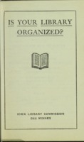 Is Your Library Organized?