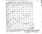 Iowa land survey map of t087n, r038w