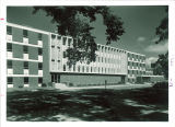 East facade of the Pharmacy Building, the University of Iowa, 1950s