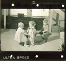 Children on indoor seesaw, The University of Iowa, January 12, 1938