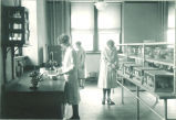 Home economics laboratory, The University of Iowa, 1910s