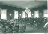 Restored House chamber of Old Capitol, The University of Iowa, 1927