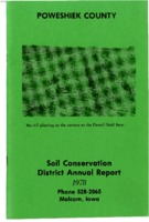 1978 Poweshiek County Soil and Water Conservation District Annual Report