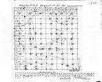 Iowa land survey map of t085n, r003w