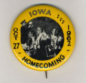 Homecoming badge, October 27, 1962