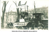 Health care float in Mecca Day parade, The University of Iowa, 1920