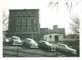North end of the Chemistry Building, the University of Iowa, March 16, 1956