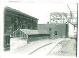 Old Botany greenhouse, the University of Iowa, 1916