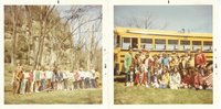 Tree planting with grade school, 1971