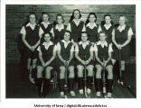 Field hockey team, The University of Iowa, February 15, 1940