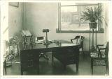 Dean's office in Trowbridge Hall, The University of Iowa, 1917