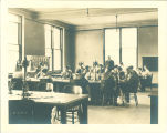 Classroom in Macbride Hall, the University of Iowa, 1910