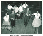 Hick Hawks country dancing club, The University of Iowa, October 1950