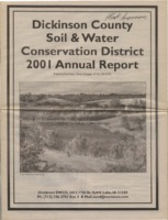 Dickinson County Soil Conservation District Annual Report - 2001.