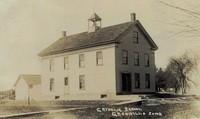 St. Joseph's Parochial School - Garnavillo, Iowa - 1914, view 2