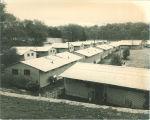 Married housing barracks, the University of Iowa, 1952