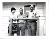 Audrey Wheeler, Bob Malin, and Paul Bruns, 1970
