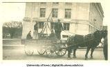Devilish mixture float, Homecoming parade, The University of Iowa, 1917
