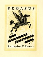 Catherine C. Dewar Bookplate