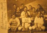 Oskaloosa Blues Baseball Team, Early 1900's; Iowa