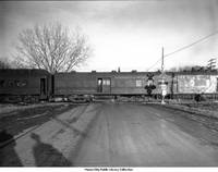 Minneapolis & St. Louis railroad crossing