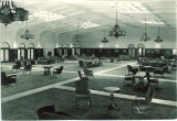 Main Lounge of Iowa Memorial Union, the University of Iowa, 1950s