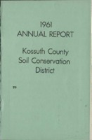 1961 Kossuth County Soil and Water Conservation District Annual Report
