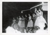 Queen of the Furrow Candidates for 1958 in Drakesville, Iowa