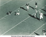 Iowa-Notre Dame football game, The University of Iowa, October 26, 1946
