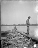 UP358 E.W. Hanson and friend fishing
