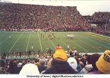 Iowa-Ohio football game, The University of Iowa, November 1, 1986
