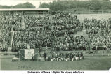 Band playing on Iowa Field, The University of Iowa, 1910s