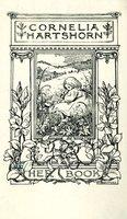 Cornelia Hartshorn Bookplate