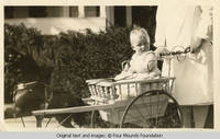 Baby Frindy in carriage